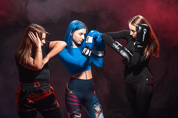 Тайский бокс, женская группа