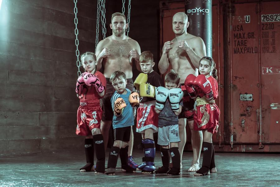 Боевые искусства для детей