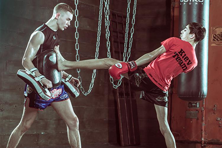 Тренировки бойцов ММА