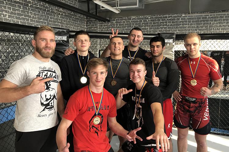 "Турнир по MMA  ""Атаман"" vs ""Sparta"""