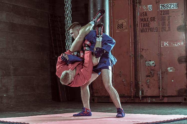 Тренировки самбо
